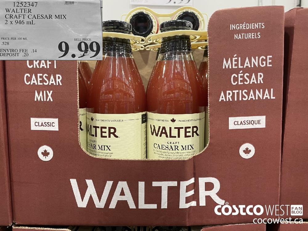 1252347 WALTER CRAFT CAESAR MIX 2 X 946 mL $9.99