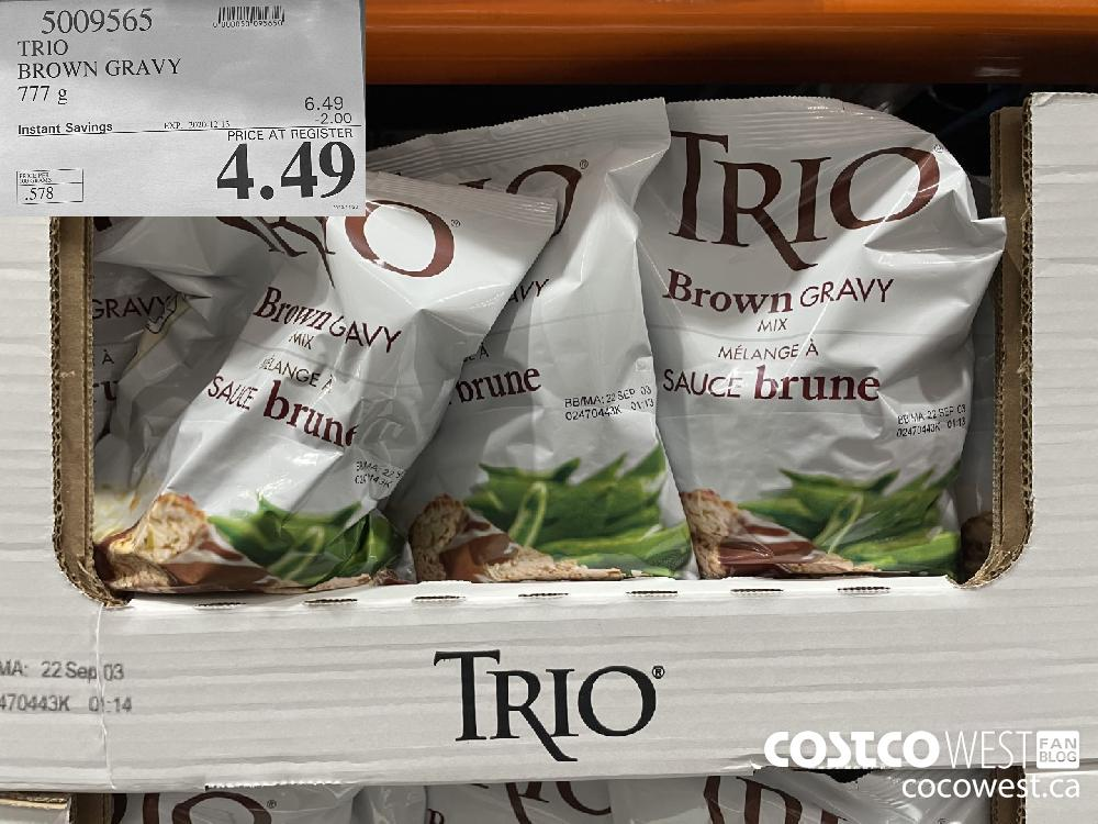 5009565 TRIO BROWN GRAVY 777 g EXP. 2020-12-13 $4.49