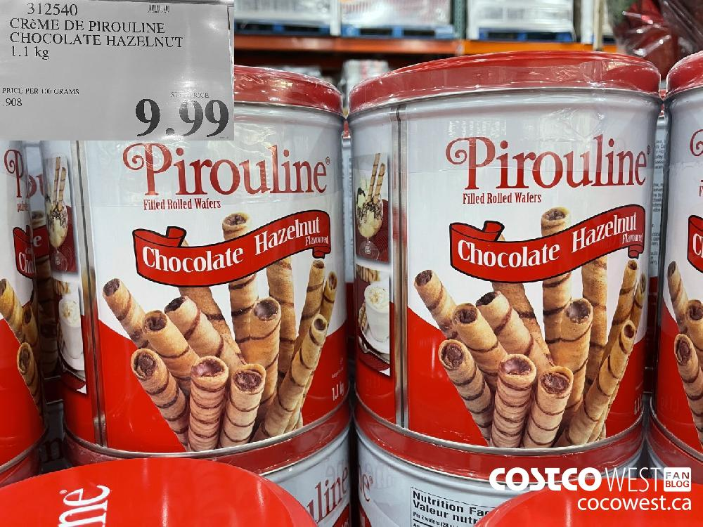 310540 CREME DE PIROULINE CHOCOLATE HAZELNUT 1.1 kg $9.99