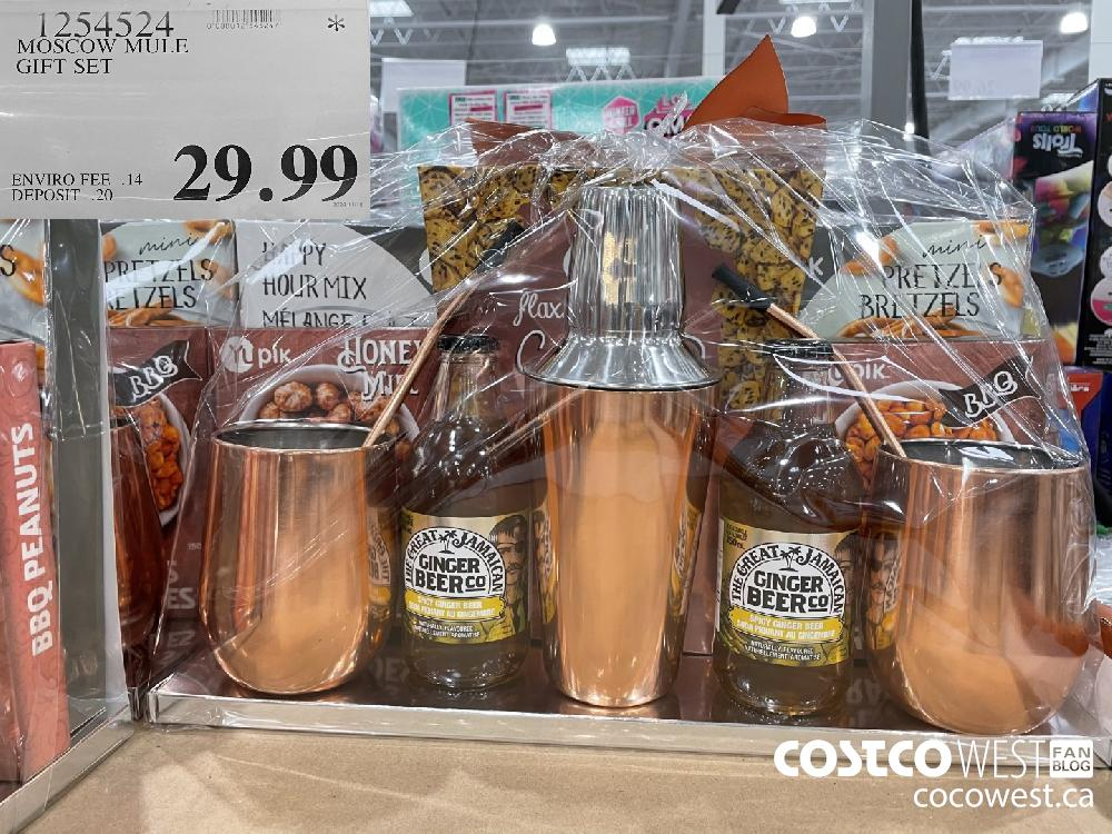 1254524 MOSCOW MULE GIFT SET $29.99