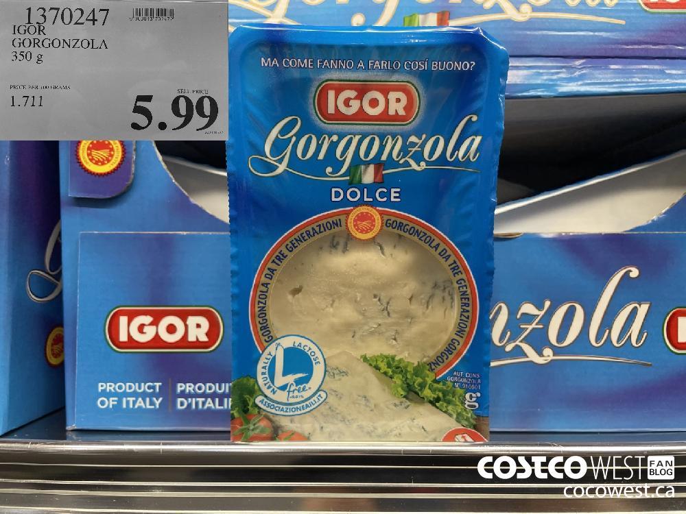 1370247 IGOR GORGONZOLA 350 g $5.99