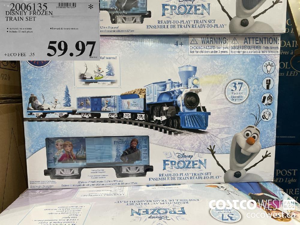 2006135 DISNEY FROZEN TRAIN SET $59.97