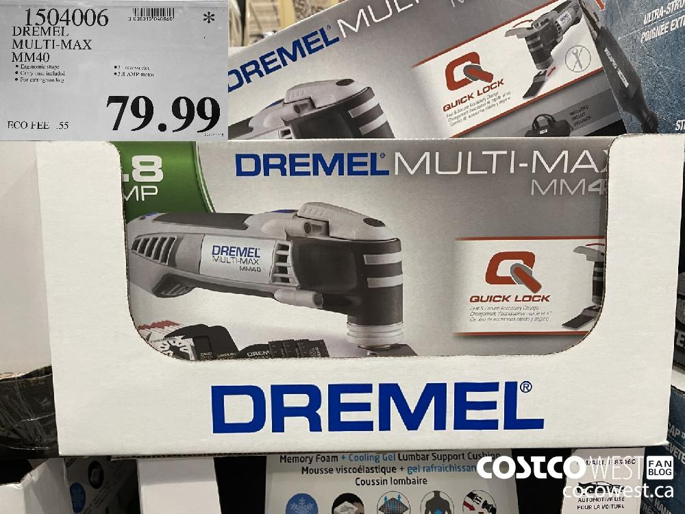 1504006 DREMEL MULTI-MAX MM40 $79.99