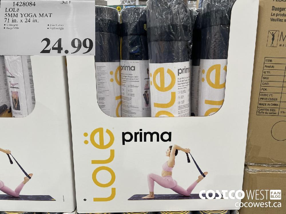 1428084 LOLé SMM YOGA MAT 71 in. xX 24 tn. $24.99