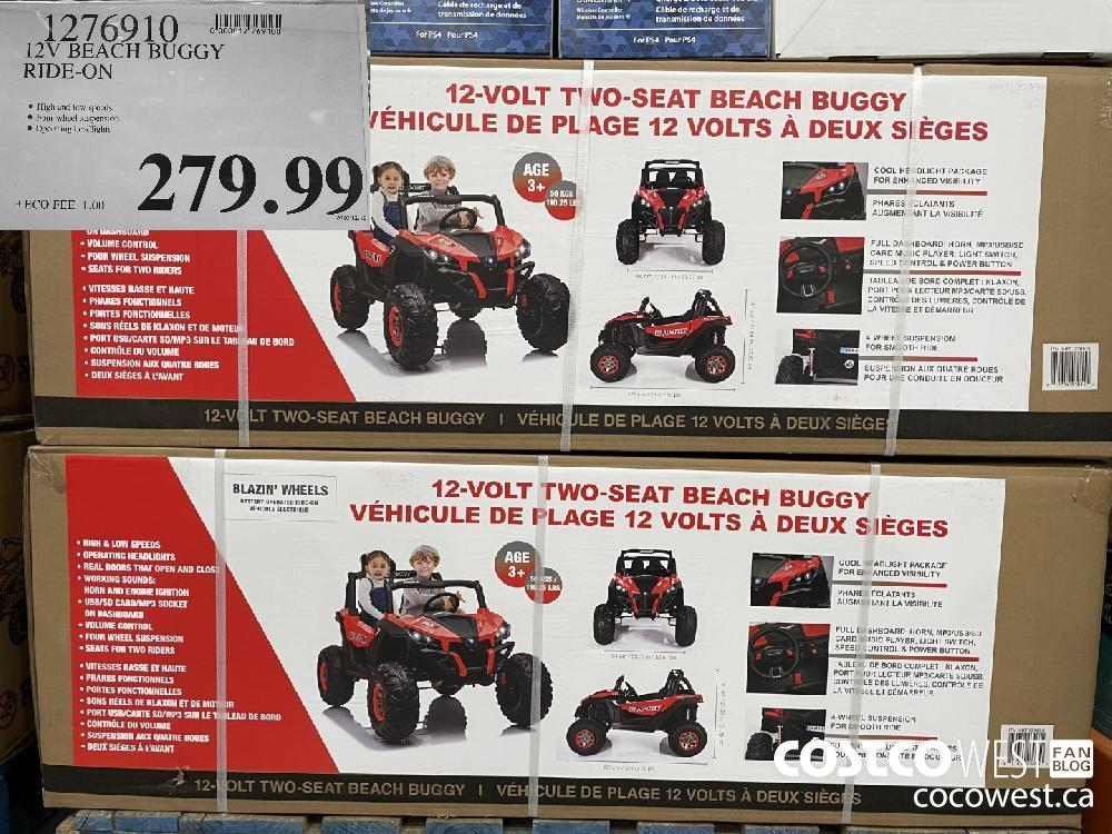 1276910 12V BEACH BUGGY RIDE-ON $279.99