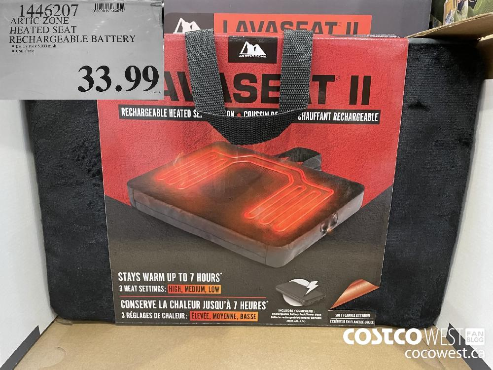 1446207 ARTIC ZONE HEATED SEAT RECHARGEABLE BATTERY $33.99