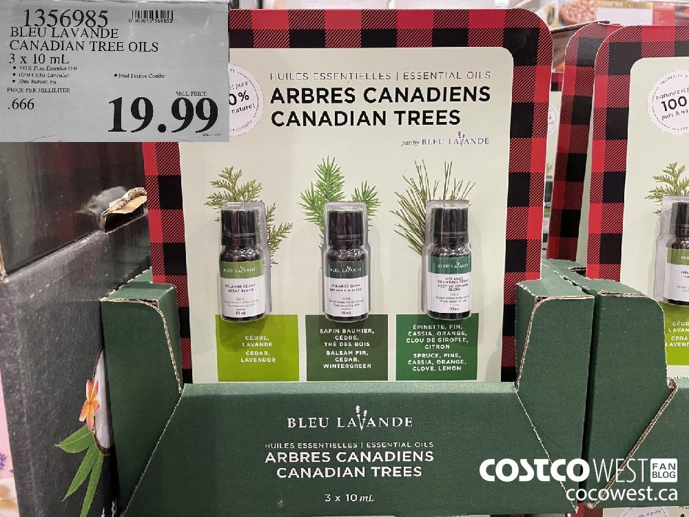 1356985 BLEU LAVANDE CANADIAN TREE OILS 3 x 10 mL $19.99