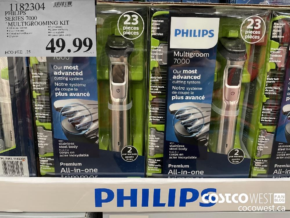 "1182304 PHILIPS SERIES 7000 ""MULTIGROOMING KIT $49.99"