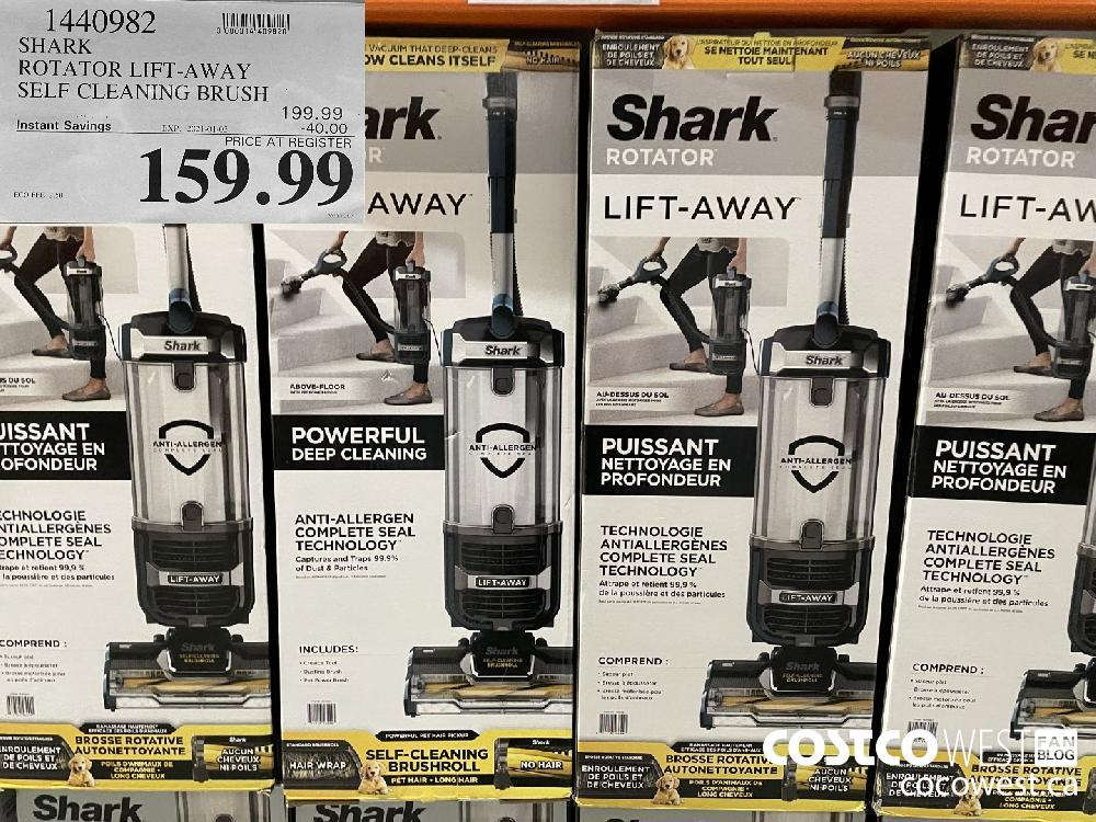 1440982 SHARK ROTATOR LIFT-AWAY SELF CLEANING BRUSH EXPIRY DATE: 2021-01-03 $159.99