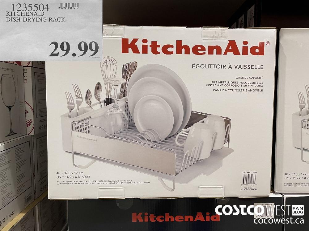 1235504 KITCHENAID DISH-DRYING RACK $29.99