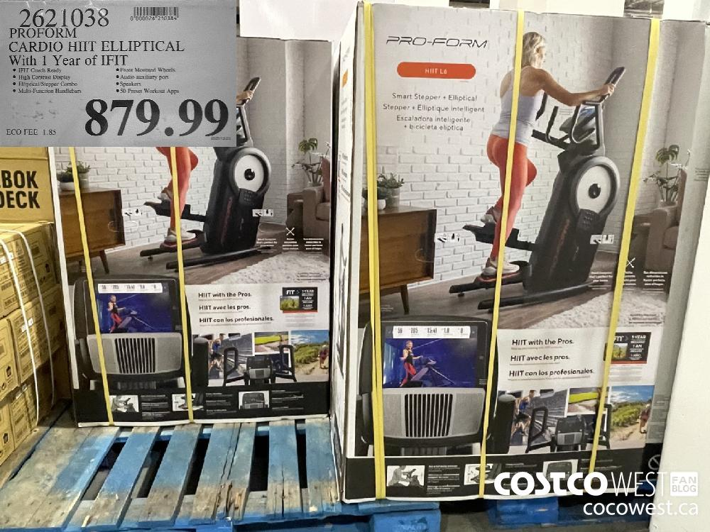 2621038 PROFORM CARDIO HHT ELLIPTICAL With 1 Year of IFIT $879.99