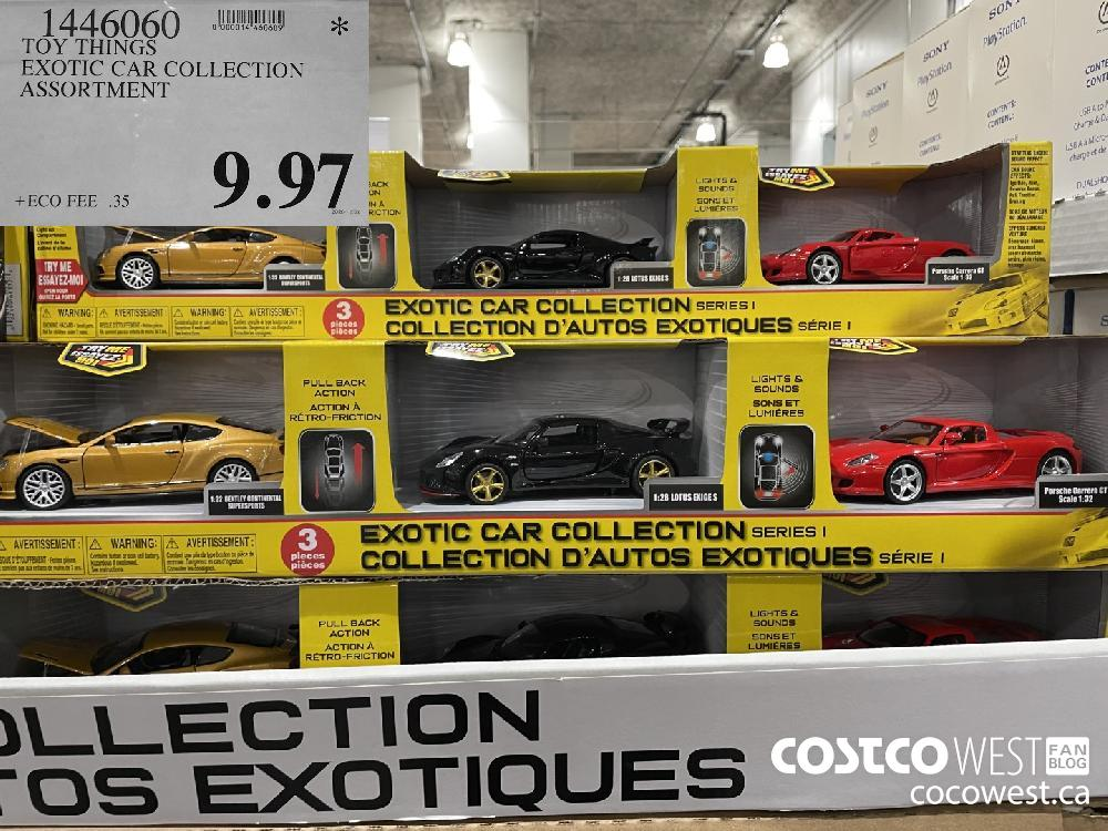 1446060 TOY THINGS EXOTIC CAR COLLECTION ASSORTMENT $9.97