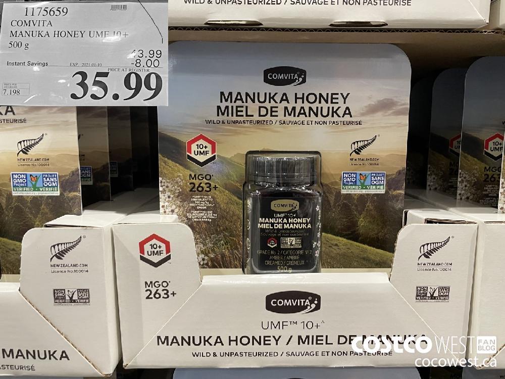 1175659 COMVITA MANUKA HONEY UMF 10 EXPIRY DATE: 2021-01-10 $35.99