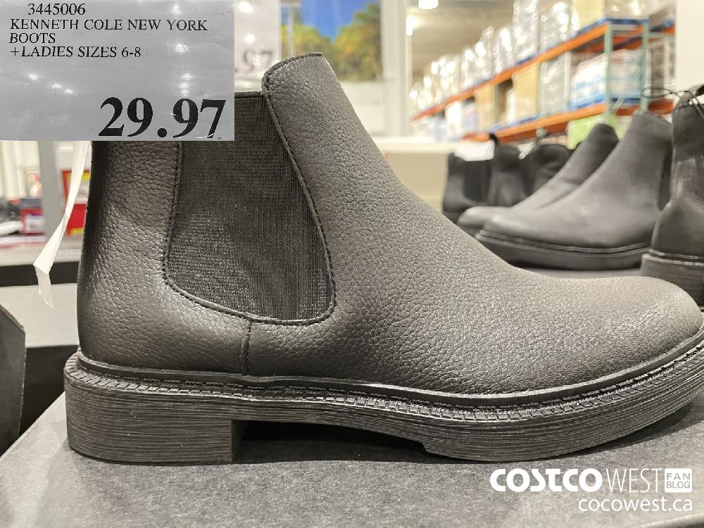 3445006 KENNETH COLE NEW YORK BOOTS LADIES SIZES 6-8 $29.97