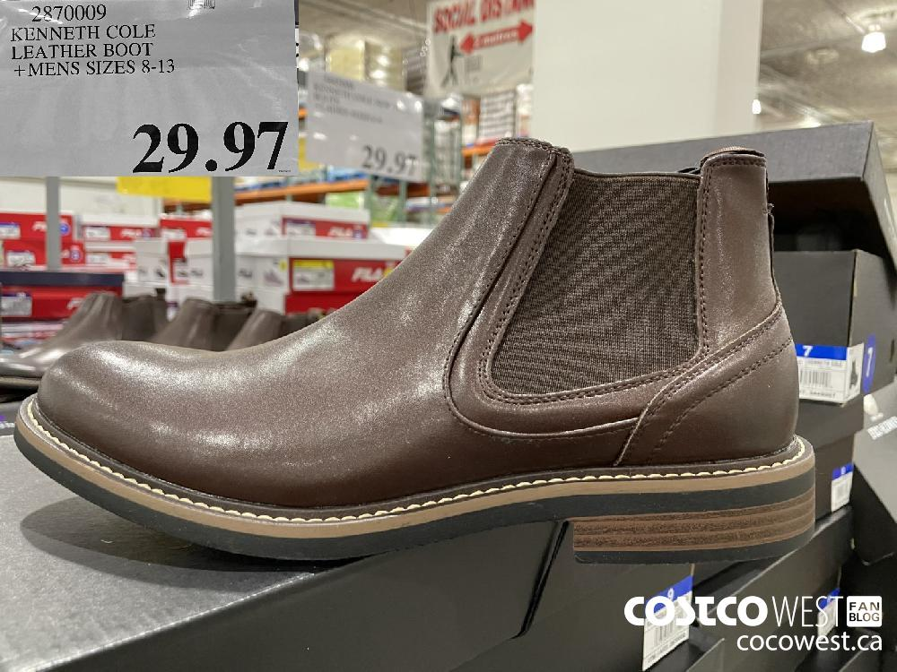 2870009 KENNETH COLE LEATHER BOOT MENS SIZES 8-13 $29.97