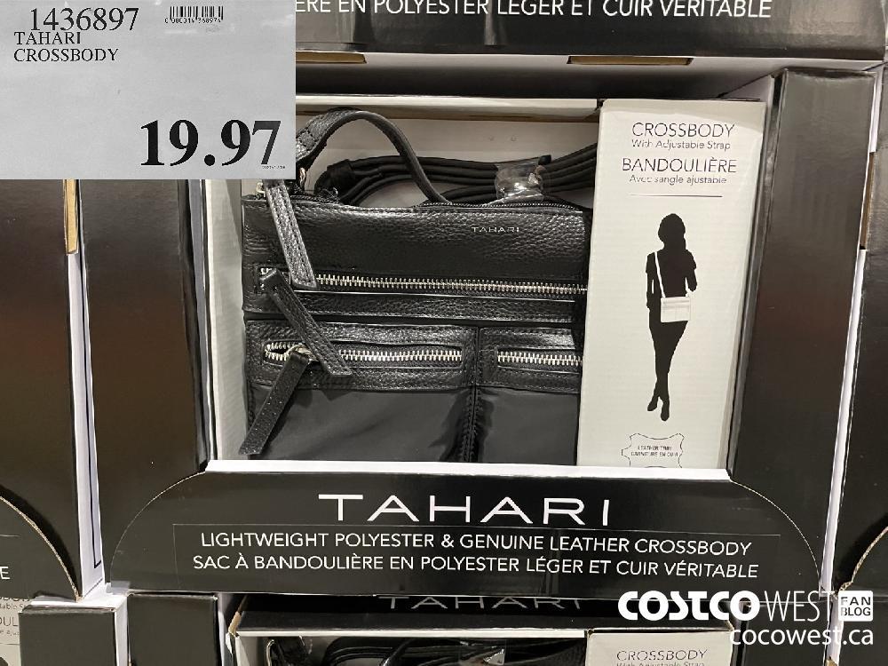 1436897 TAHARI CROSSBODY $19.97