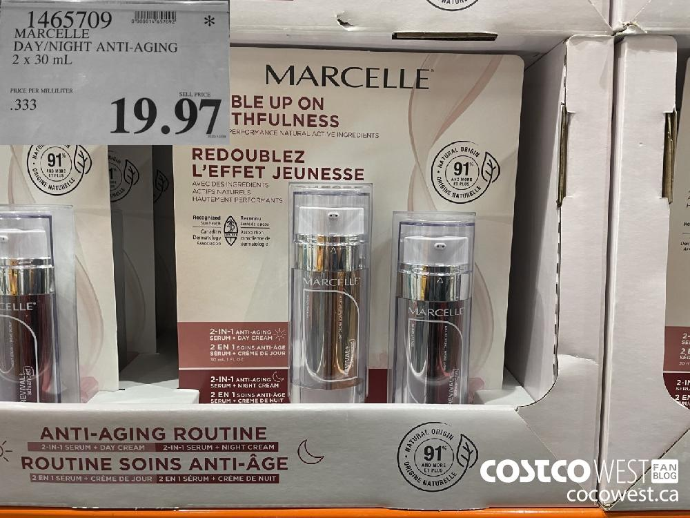 1465709 MARCELLE DAY/NIGHT ANTI-AGING 2x 50 mL $19.97