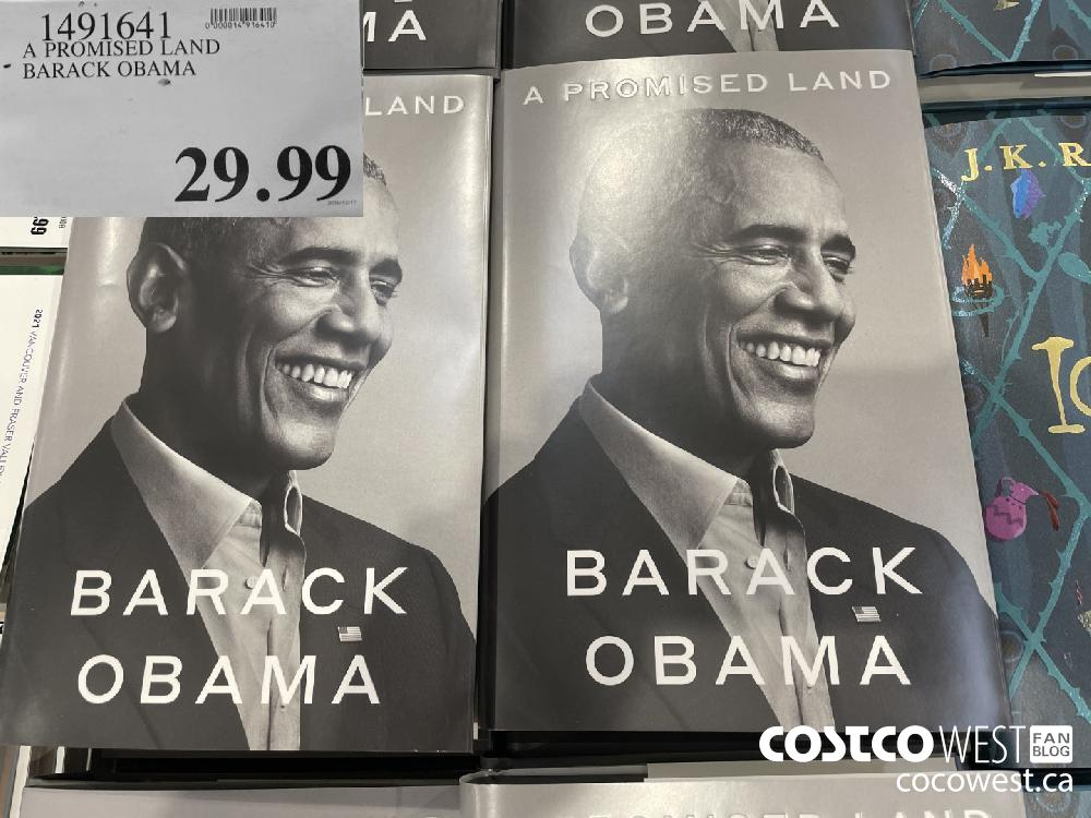 491641 A PROMISED LAND BARACK OBAMA $29.99