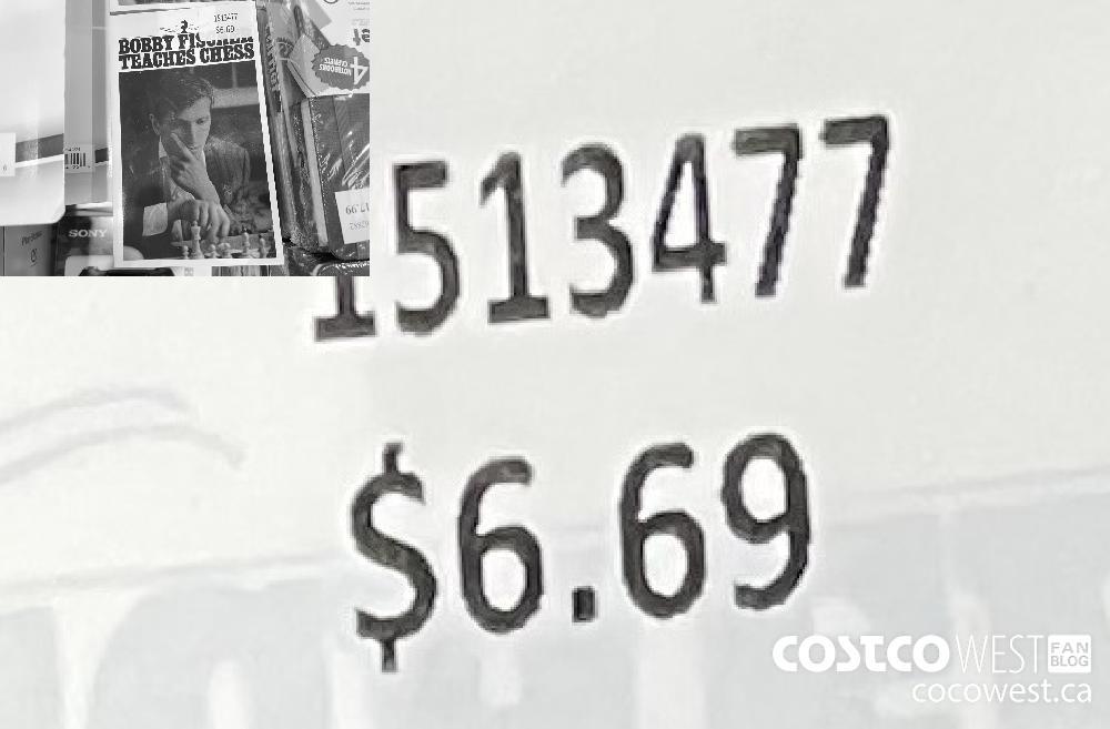 1513477 BOBBY FISCHER TEACHES CHESS $6.69