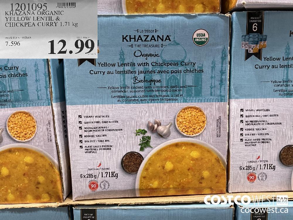 1201095 KHAZANA ORGANIC YELLOW LENTIL