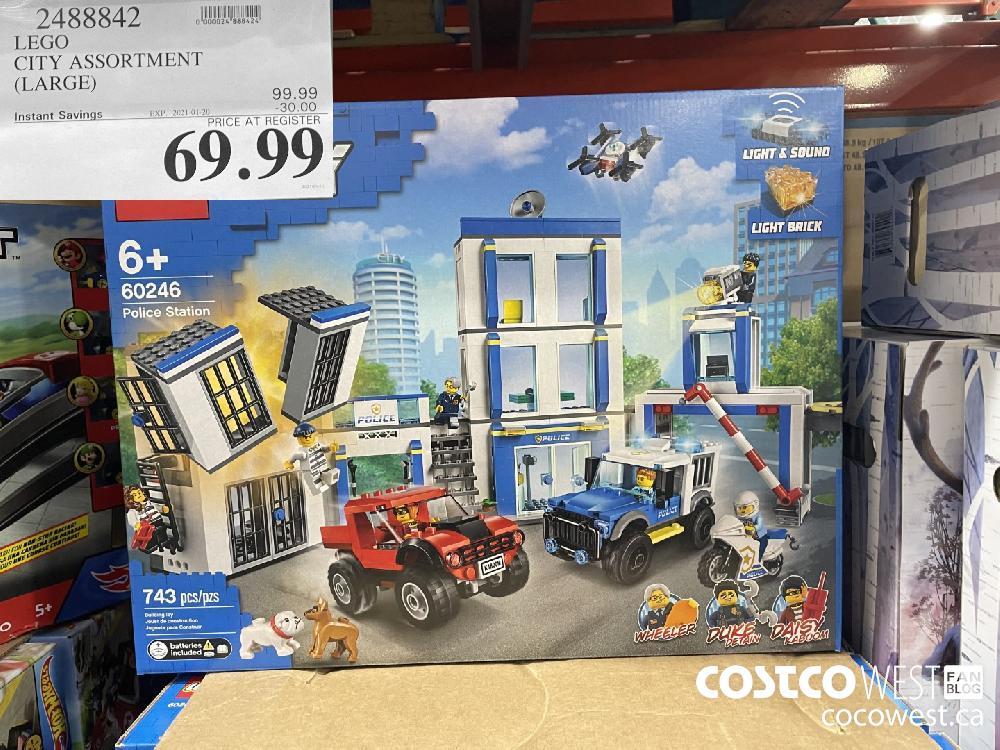 2488842 LEGO CITY ASSORTMENT (LARGE) EXPIRY DATE: 2021-01-20 $69.99
