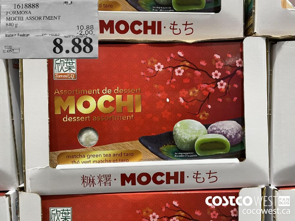 1618888 FORMOSA MOCHI ASSORTMENT 840 g EXPIRY DATE: 2021-01-24 $8.88
