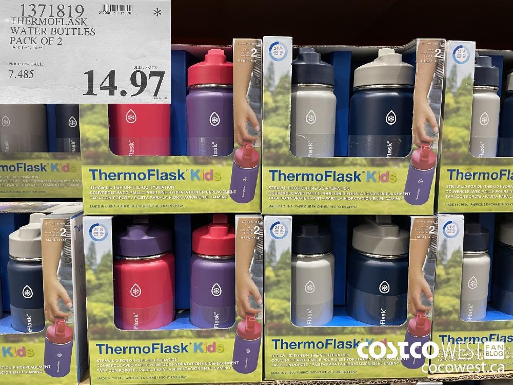 1371819 THERMOFLASK WATER BOTTLES PACK OF 2 $14.97