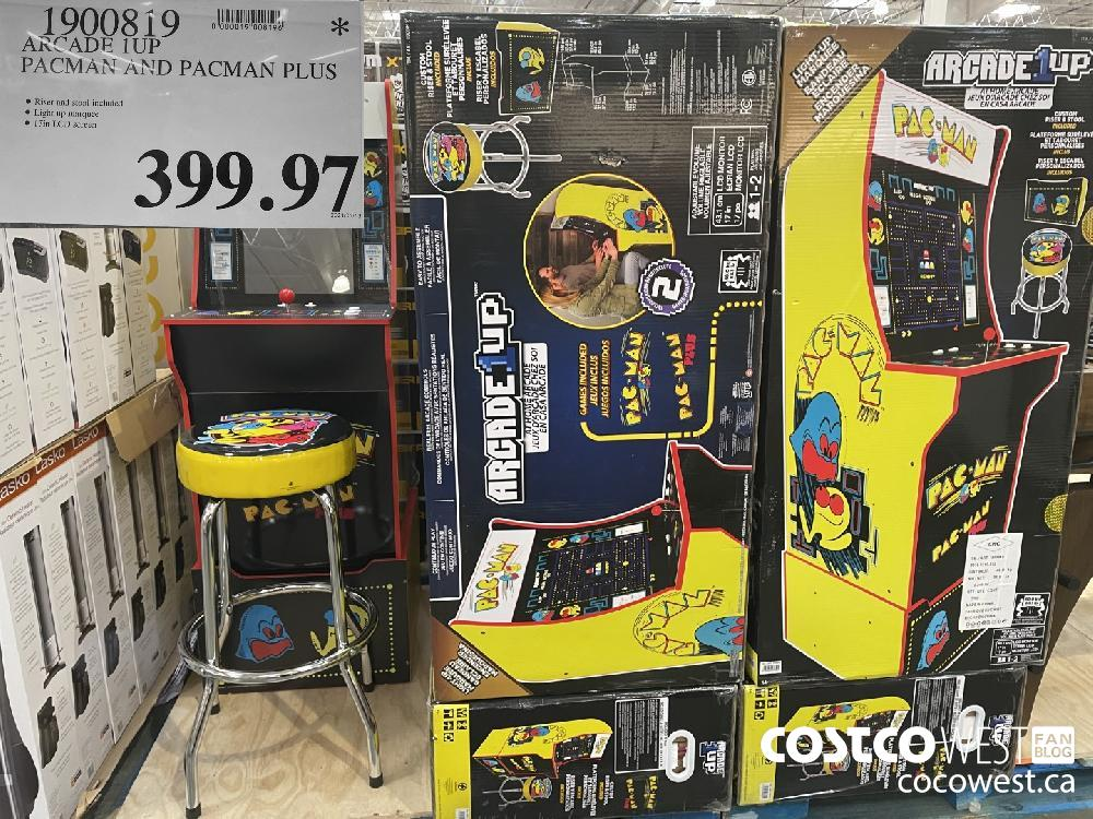 1900819 KCADE 1UP PACMAN AND PACMAN PLUS $399.97