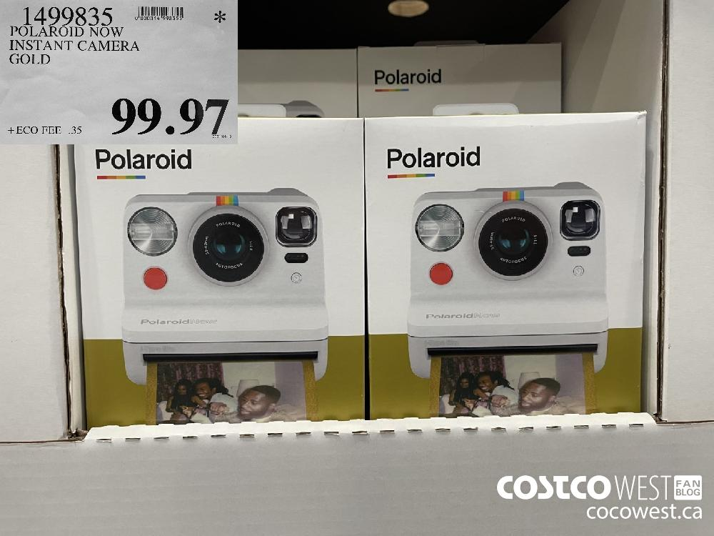 1499835 POLAROID NOW INSTANT CAMERA GOLD $99.97