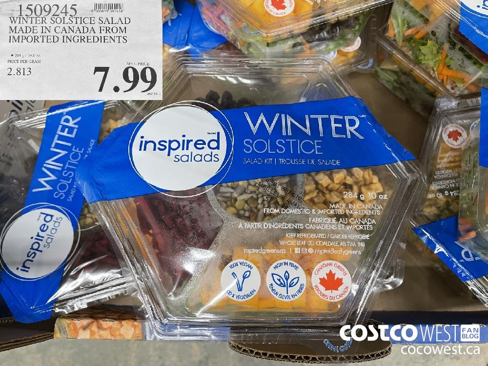 1509245 WINTER SOLSTICE SALAD MADE IN CANADA FROM IMPORTED INGREDIENTS $7.99