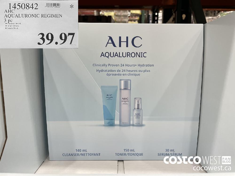 1450842 AHC AQUALURONIC REGIMEN 3 pc $39.97