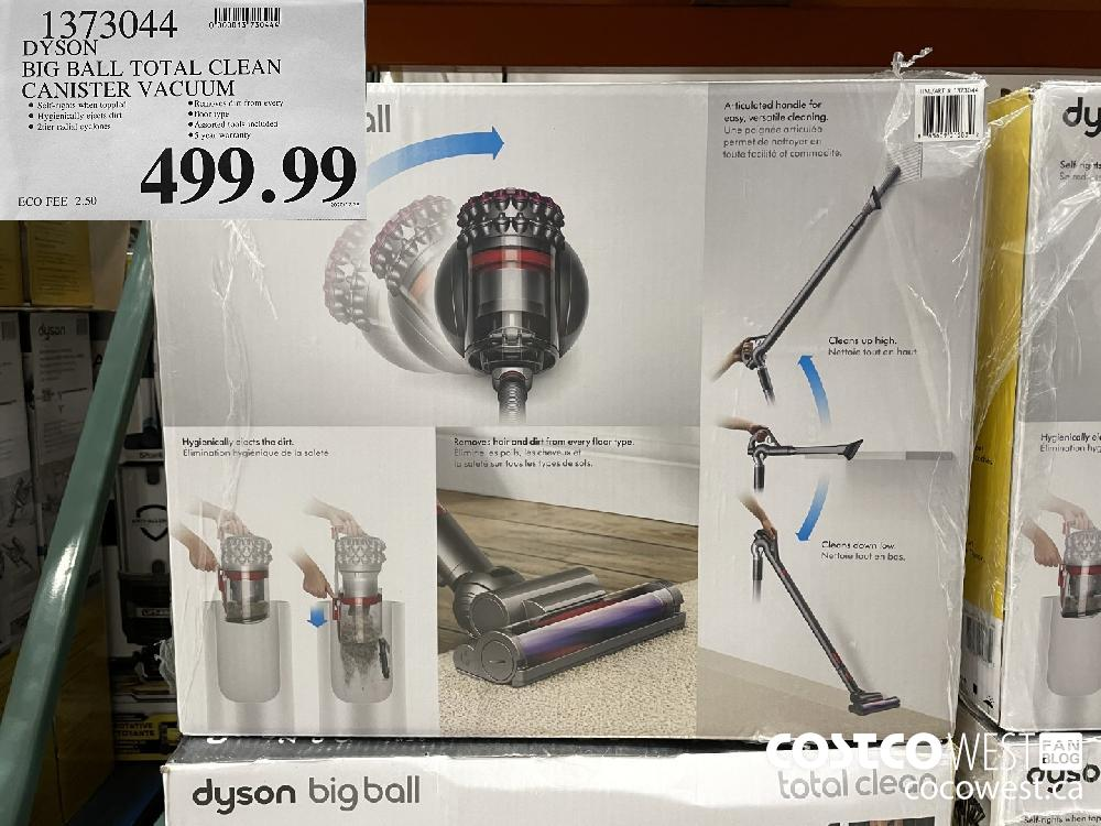 1373044 DYSON BIG BALL TOTAL CLEAN CANISTER VACUUM $499.99