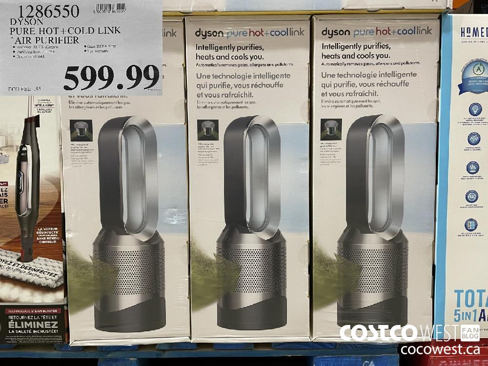 1286550 DYSON PURE HOT COLD LINK AIR PURIFIER $599.99