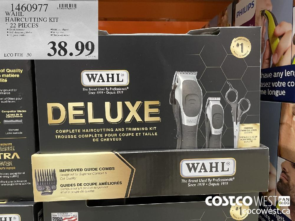 1460977 WAHL HAIRCUTTING KIT 22 PIECES $38.99