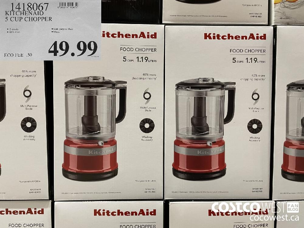 1418067 KITCHENAID 5S CUP CHOPPER $49.99