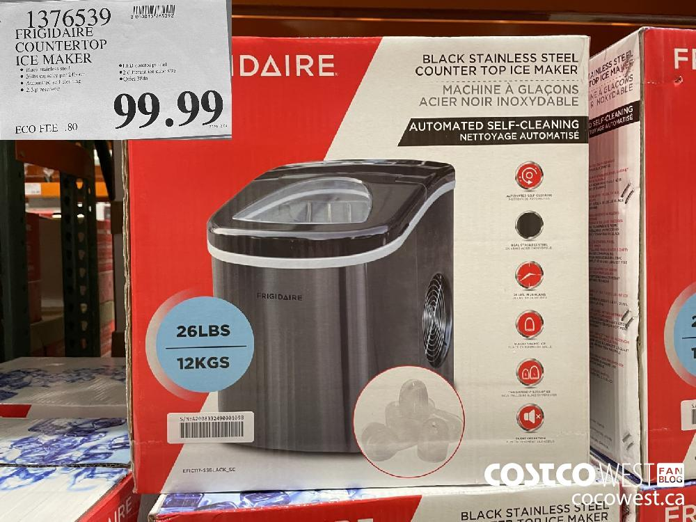 1376539 FRIGIDAIRE COUNTERTOP ICE MAKER $99.99