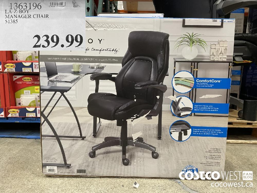 1363196 LA-Z-BOY MANAGER CHAIR 51385 $239.99