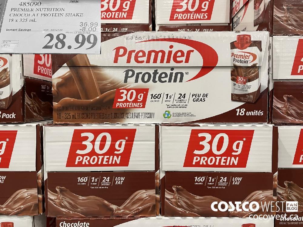 485090 PREMIER NUTRITION CHOCOLAT PROTEIN SHAKE 18 x 325 mL EXPIRY DATE:IRY DATE: 2021-02-28 $28.99