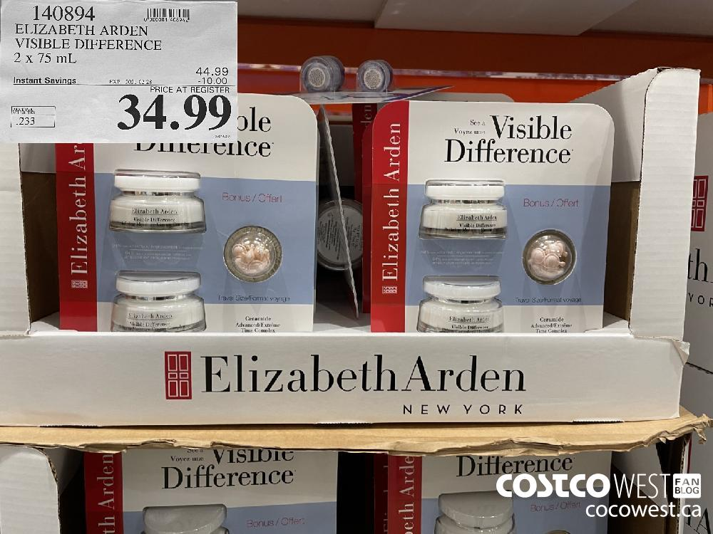 140894 ELIZABETH ARDEN VISIBLE DIFFERENCE 2 x 75 mL EXPIRY DATE:IRY DATE: 2021-02-28 $34.99