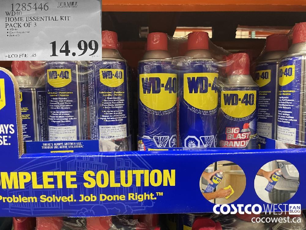 1285446 WD40 HOME ESSENTIAL KIT PACK OF 3 $14.99