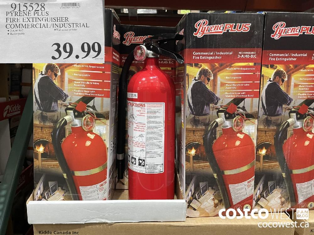 915528 PYRENE PLUS FIRE EXTINGUISHER COMMERCIAL! INDUSTRIAL $39.99