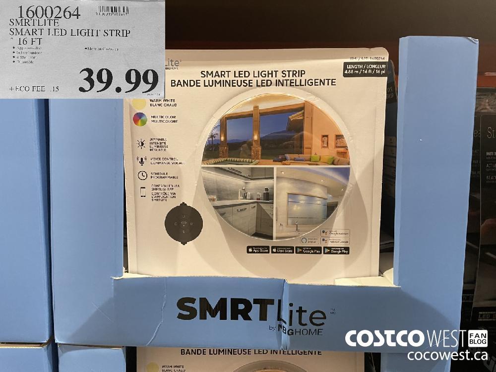 1600264 SMRTLITE SMART LED PIGHo STRIP 16 FT $39.99