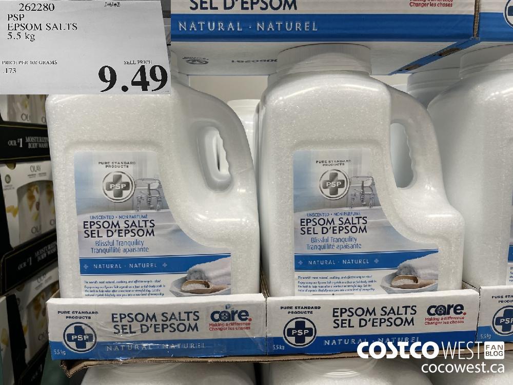 262280 PSP EPSOM SALTS 5.5 kg $9.49