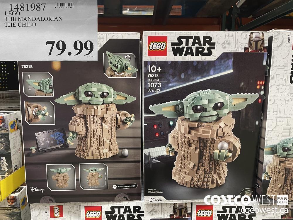 1481987 LEGO THE MANDALORIAN THE CHILD $19.97