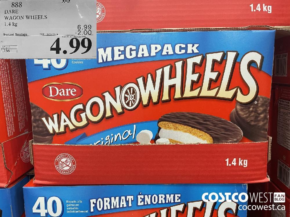 888 DARE WAGON WHEELS 1.4 kg EXPIRY DATE: 2021-02-14 $4.99