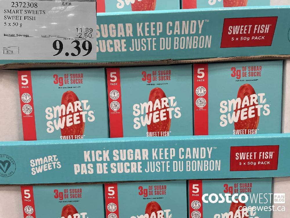 2372308 SMART SWEETS SWEET FISH 5 x 50 g EXPIRY DATE: 2021-02-14 $9.39