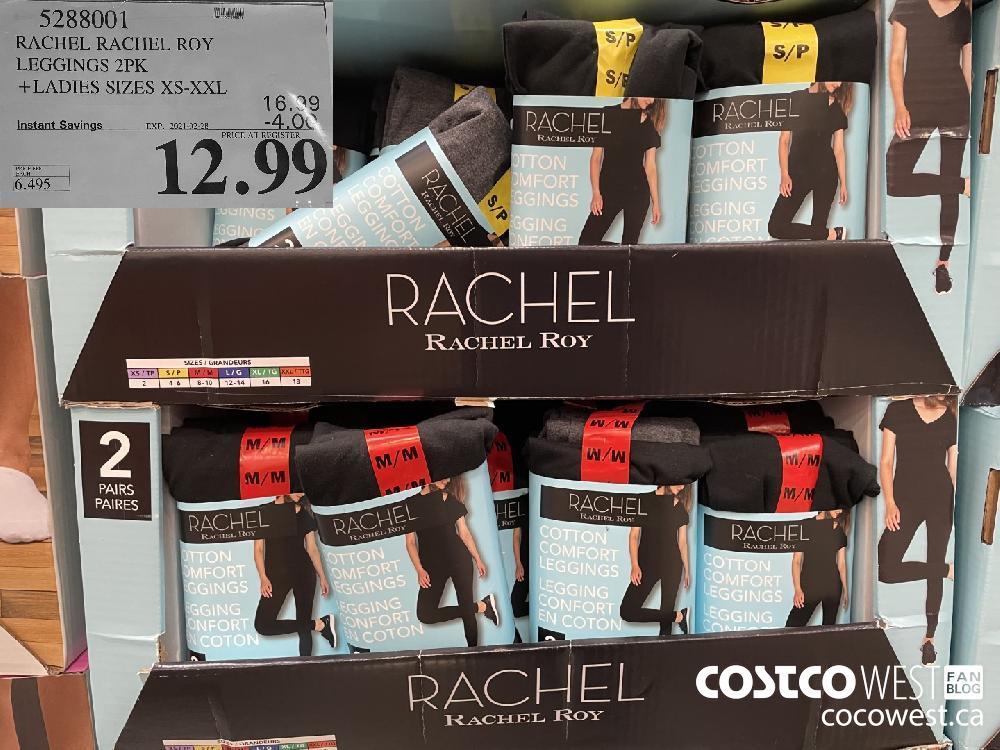 533001 RACHEL RACHEL ROY LEGGINGS 2PK LADIES SIZES XS-XXL EXPIRY DATE: 2021-02-28 $12.99