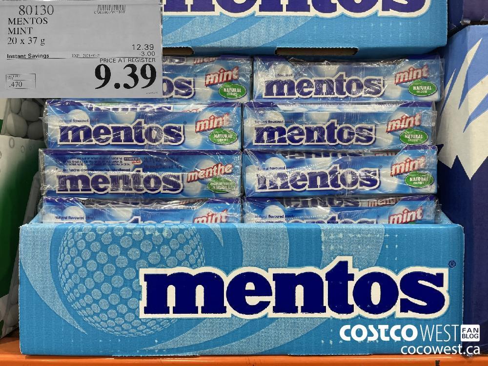 80130 MENTOS MINT 20 x 37g EXPIRY DATE: 2021-02-21 $9.39