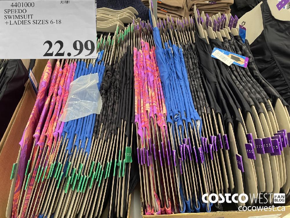 2101000 SPEEDO SWIMSUIT LADIES SIZES 6-18 $22.99