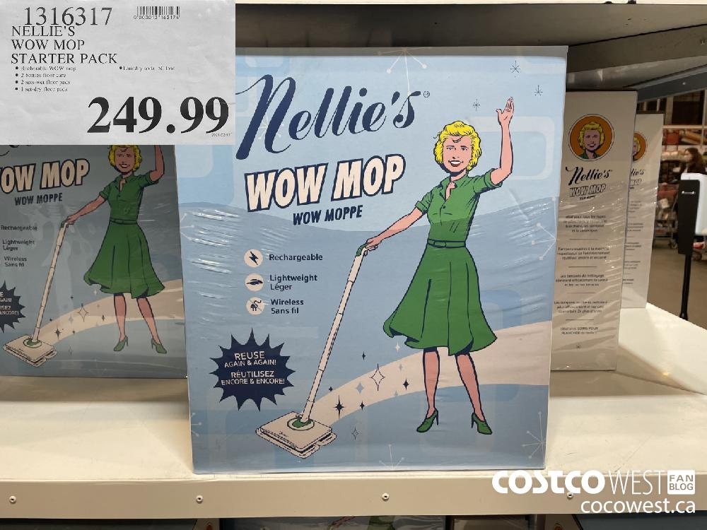 1316317 NELLIE'S WOW MOP STARTER PACK $249.99